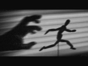 running in the night