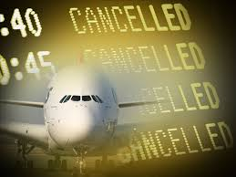 plane cancelled