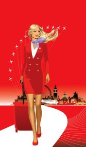 virgin stewardess
